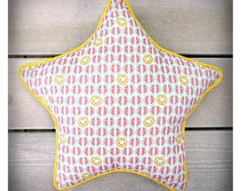 Cushion / range Pajamas Watermelon star shaped