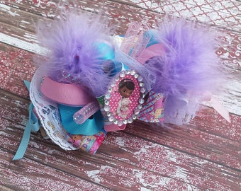 Mcstuffins Funky Loopy Bow-Very Fluffy. The Doc is in!
