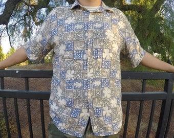 Mens Retro Hawaiian Shirt