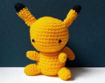 SET of 4 Pokemon Amigurumi