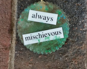 Always Mischievous Pendant