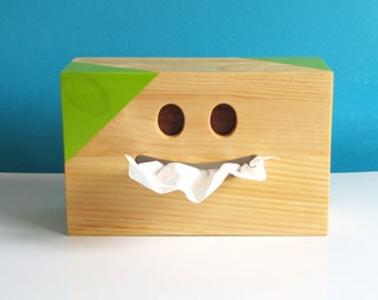 Covers box of handkerchiefs