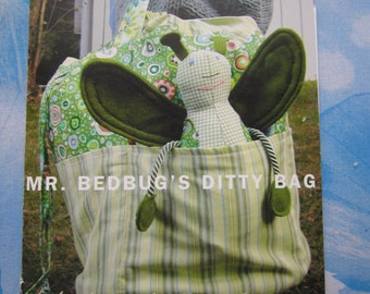 Amy Butler Mr Bedbug's Ditty Bag Sewing Pattern