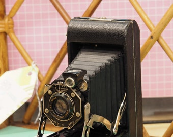 Vintage bellows Kodak camera