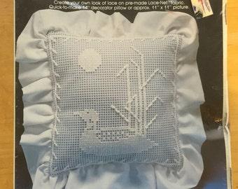 Lace-net darning kit YKI yarn kit