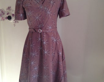 A Beautiful reproduction 1950s style dress in a stunning vintage print