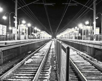 Fine Art Photographic Print - Hazlet Station