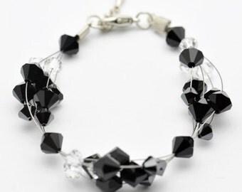 Delicate Clustered Bracelet