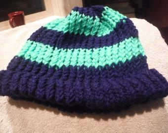 Blue Seattle Seahawks Knitted Hat