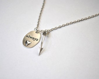 "The Hunger Games ""Always"" Necklace"