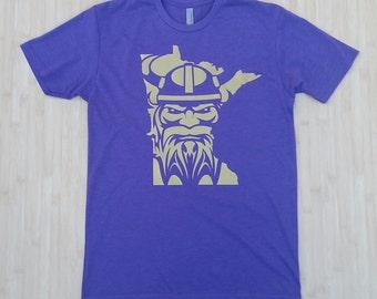 SKOL SERIES- Custom Minnesota T-shirt