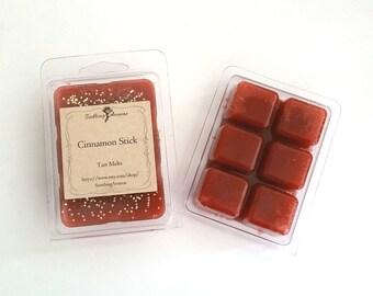 Wax Melt (Cinnamon Stick scented), soy paraffin wax tarts, wax tarts, fragrance, handmade, tart melts