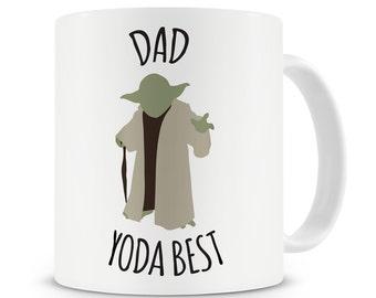 Dad Yoda the Best Mug Dad Mug Dad Gift Fathers Day Dad Birthday Gift Yoda the Best Dad Gift For Dad Gift For Him