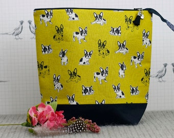 Boston Terrier Project Bag