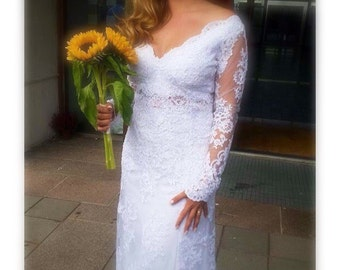 Dress of bride to measure and to multi-annual!