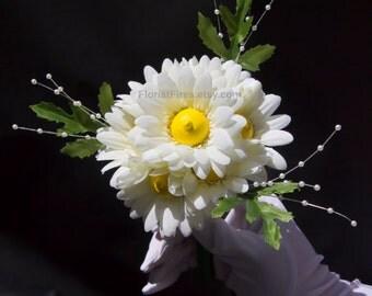 Booby Bouquet™ Gerbera Daisy Wedding Bouquet Bachelorette Party Bridal Bouquet Novelty Gift Silk Flower Arrangement