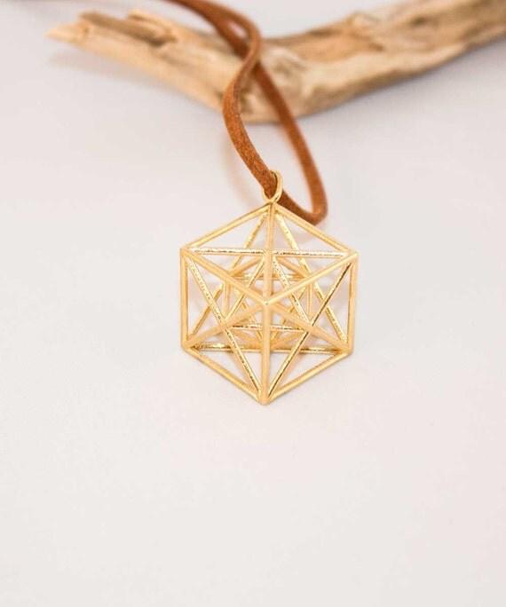 metatron s cube pendant