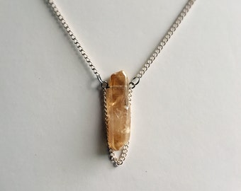 Crystal Necklace w/ chain