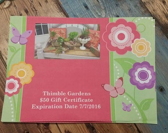 Thimble Gardens Gift Cards