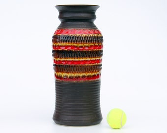 Bay 76 40 floor vase-Retro German ceramic