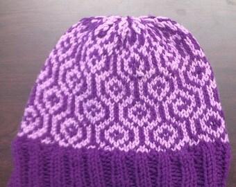 Geometric Knit Hat