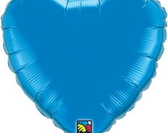 "Blue Star Balloon- 18"" Foil Balloon-  Balloon Shapes"