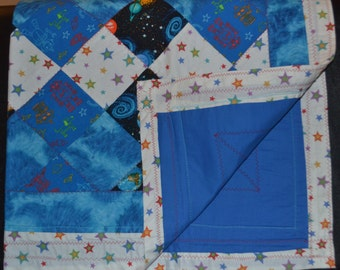 Robots and Stars Quilts