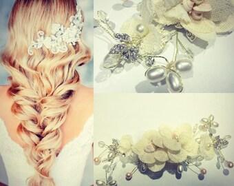 Linen Flowers application