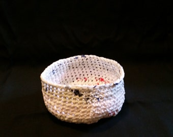 Small Recycled Plastic Basket