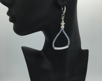 Chandelier Drop Earrings in Sterling Silver