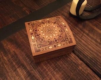 Mosaic jewelry box