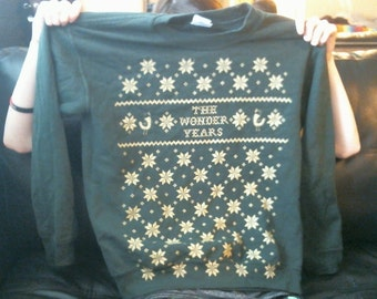 The Wonder Years Limited Edition Holiday Crew Neck - Small