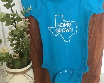 HomeGrown Texas Onesie