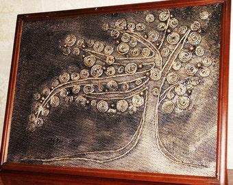 tree hand made