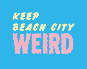 Keep Beach City Weird Steven Universe Patch