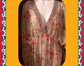 Flowy kimono top