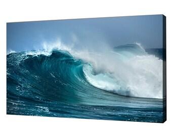 Ocean Print Canvas