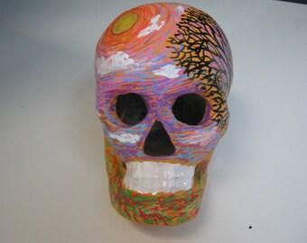 Sunset Day Of The Dead Skull (134)