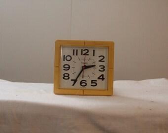 Vintage 1960's timex wall clock