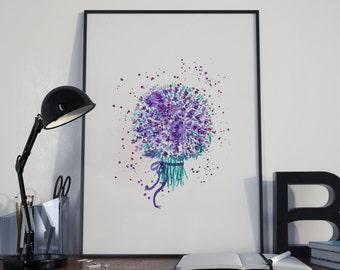 Spontaneous Lavender bouquet