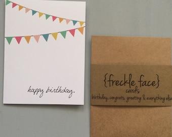 Freckle Face Birthday Card