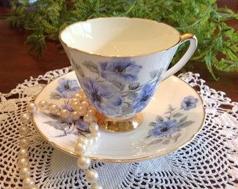 Old Royal Teacup and Saucer