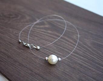 Swarovski Cream Pearl Necklace