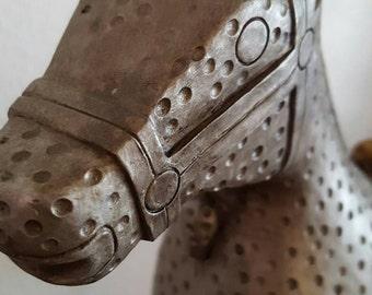 Very unusual ceramic horse