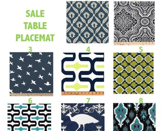 SALE TABLE PLACEMATS set of 2 and 4