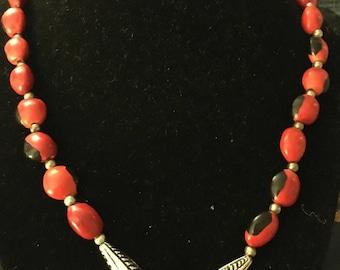 Huayruro Peruvian Necklace