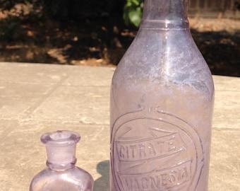 Antique Lavender Bottles
