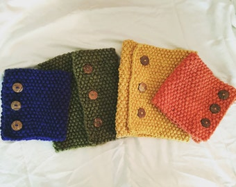 Button Up Scarf