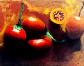 Darker persimmons