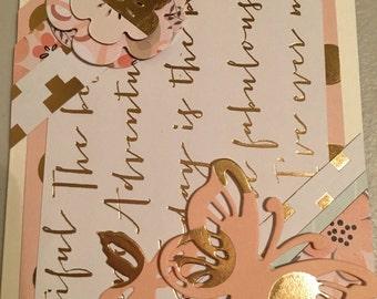 Handmade Greeting Cards-4 card assortment